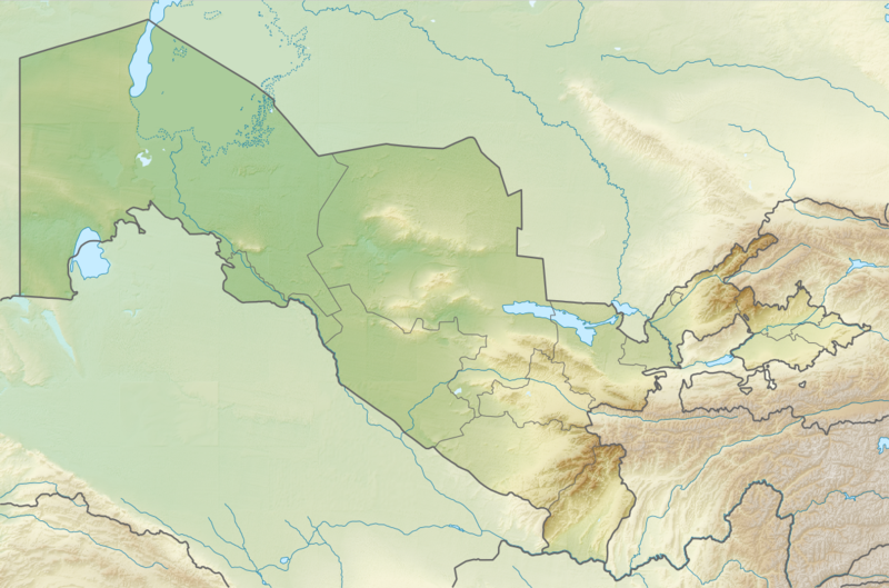 File:Relief Map of Uzbekistan.png