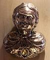 Reliquiario a forma di busto di santo, argento, xv poi xvii sec.JPG
