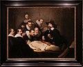 Rembrandt, la lezione di anatomia del dottor tulp, 1632, 01.jpg