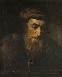 Rembrandt (Harmensz. van Rijn) (^) - Bildnis eines alten Mannes - 1262 - Bavarian State Painting Collections.jpg