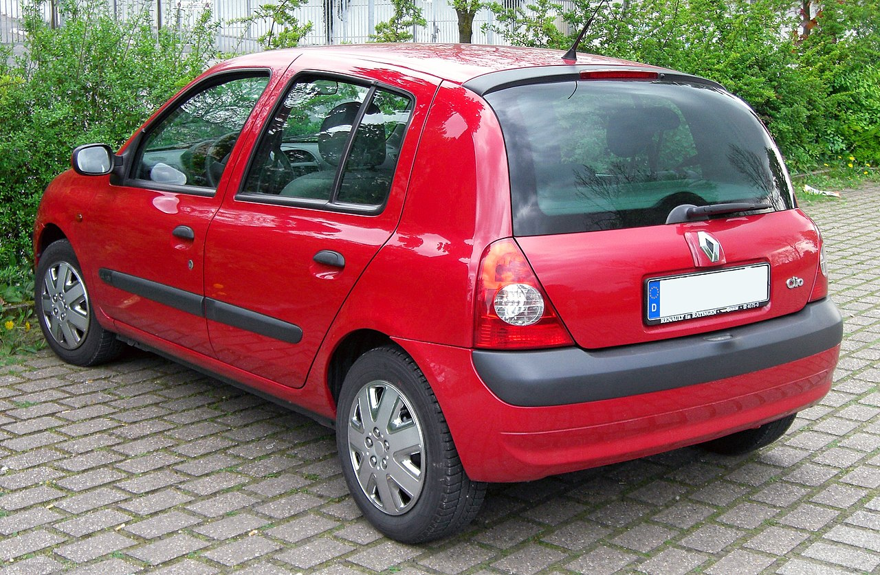 file renault clio ii 20090425 rear jpg wikimedia commons. Black Bedroom Furniture Sets. Home Design Ideas
