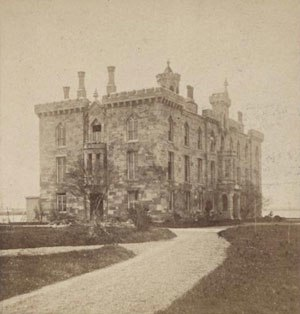 Smallpox Hospital - The hospital circa 1870