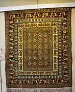 Replica of Pazyryk Rug in Carpet Museum of Iran.jpg