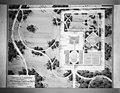 Reproductie van tuinontwerp met formele aanleg binnen de gracht en landschappelijke aanleg buiten de gracht - Doetinchem - 20058452 - RCE.jpg