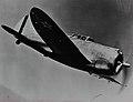 Republic P-43 Lancer Lancer in flight (16148949268).jpg