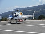 Rescue helicopter on the Heliport in Monchique, Portugal, 3 August 2015 (1).JPG