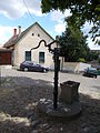 Residential building. Listed ID 3809. Iron well. - 7, Rab Ráby Sq., Szentendre, Pest County, Hungary.JPG