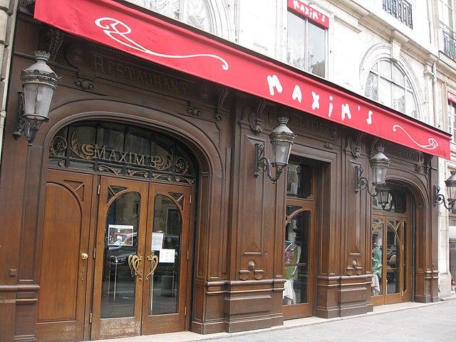 Imaghe Restaurant Chez Maxime