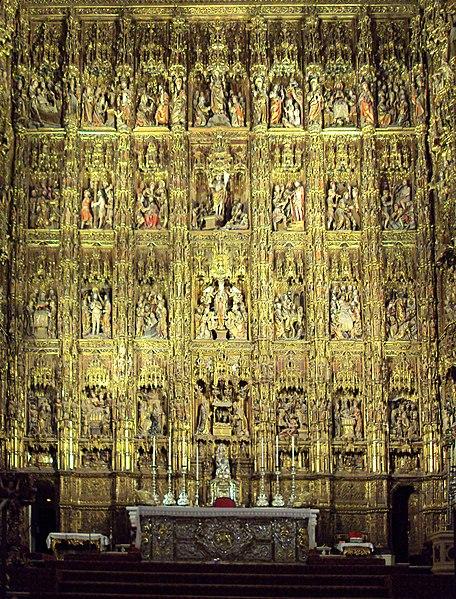 Archivo:Retablo Capilla Mayor, Catedral de Sevilla.jpg