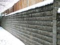 Retaining wall - geograph.org.uk - 736417.jpg