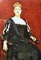 Retrat de senyora vestida de negre, Raimundo de Madrazo i Garreta, Museu de Belles Arts de València.JPG