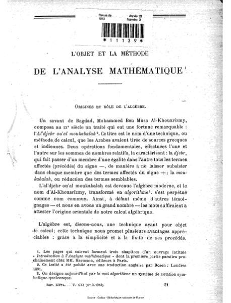 File:Revue de métaphysique et de morale, numéro 3, 1913.djvu