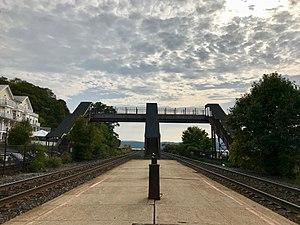 Rhinecliff–Kingston station - Rhinecliff-Kingston Station Platform