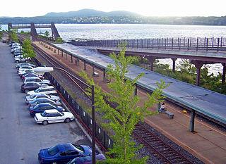 Rhinecliff–Kingston station Railway station in Rhinecliff, New York
