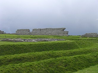 Richborough - Image: Richborough castle
