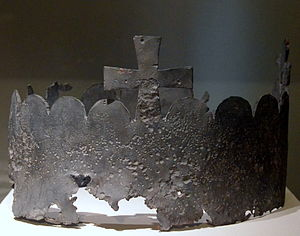 Richenza of Northeim - Crown from Richenza's grave, Braunschweigisches Landesmuseum