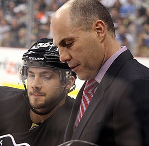 Rick Tocchet - Tocchet while assistant coach with the Penguins in 2014