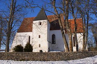 Kolila Village in Lääne County, Estonia