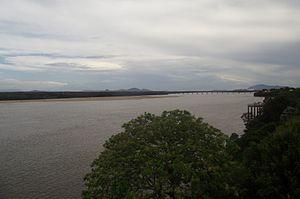 Branco River - Image: Rio Branco sul