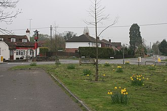 Riseley, Berkshire - Image: Riseley geograph.org.uk 3558