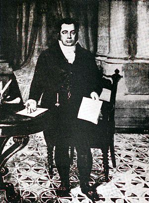 Rise of the Argentine Republic - Bernardino Rivadavia, first president of Argentina.