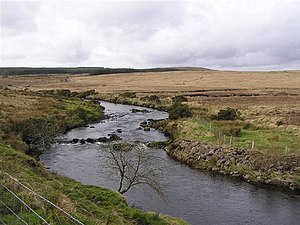 River Derg - River Derg on the Northern Ireland side of the border