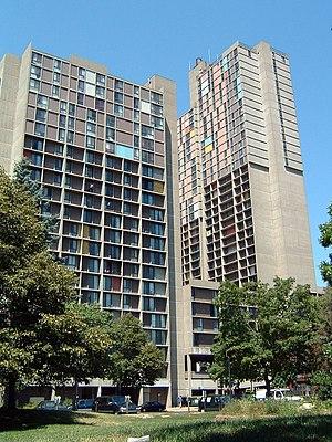 Ralph Rapson - Riverside Plaza, formerly Cedar Square West (1973)