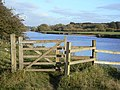 Riverside gate - geograph.org.uk - 1551591.jpg