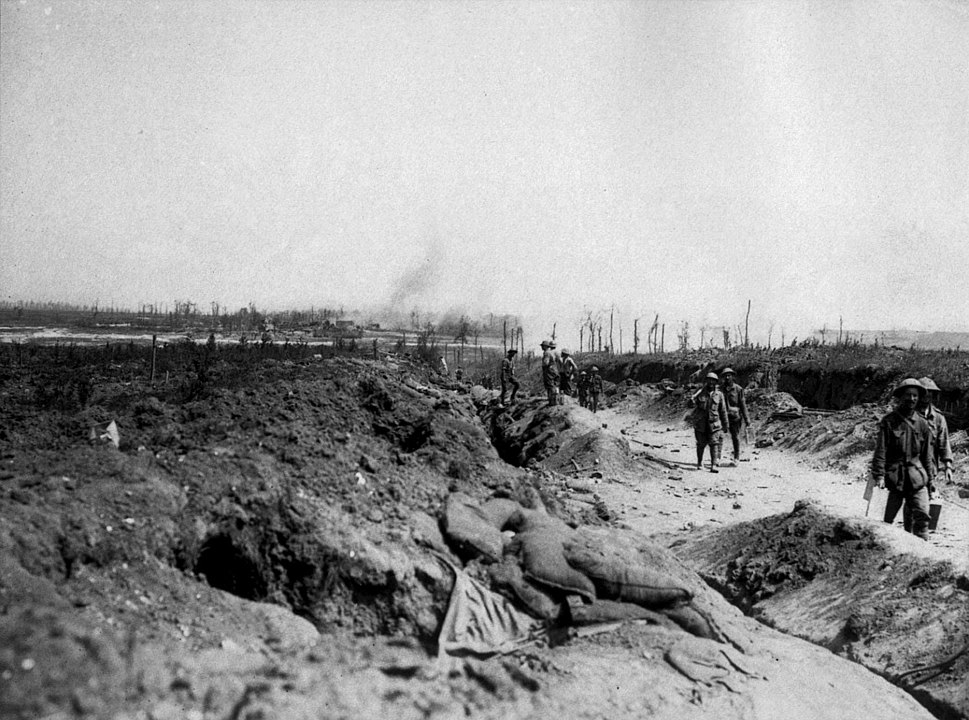 Road to Pozieres August 1916 (AWM EZ0084)