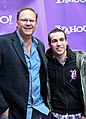 Rob Cavallo and Pete Wentz October 2009 Yahoo Yodel Studio.jpg