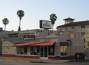 Robeks - Robeks store on Sunset Boulevard in Hollywood, California