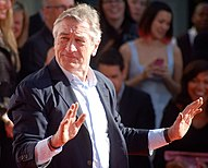 De Niro at the TCL Chinese Theatre, 2013.