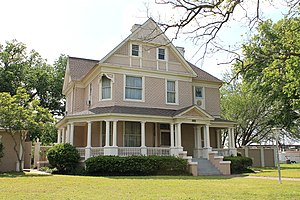 National Register of Historic Places listings in Robertson County, Texas - Image: Robertcallen 1