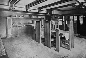 Robie House - Interior (1911)