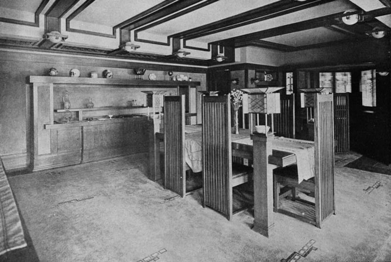 File Robie House Interior Habs Ill 16 Chig 33 7 Jpg