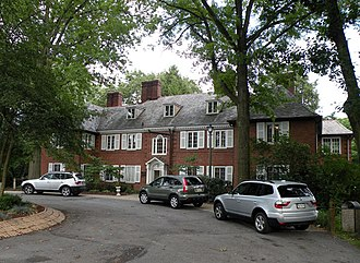 Moon Township, Allegheny County, Pennsylvania - The house at Robin Hill Park, a large community center area in Moon Township