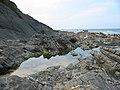 Rock pool at Crackington Haven Cornwall - geograph.org.uk - 102130.jpg