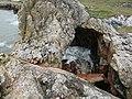 Rockfall at the Long Quarry Sea Arch.jpg