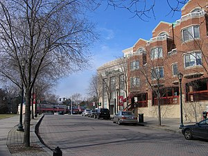 Rockville, Maryland - The Rockville Town Center in January 2006