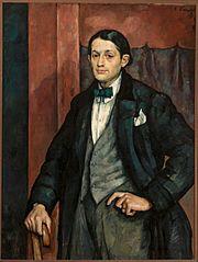 Portret rzeźbiarza Henryka Kuny