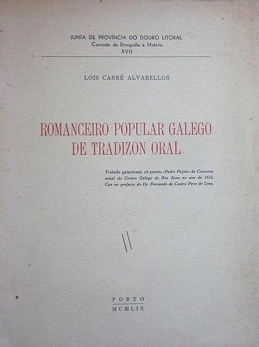 Romanceiro popular galego de tradizon oral.