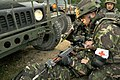 Romanian and Bulgarian Operational Mentor Liaison Team training - Convoy attack (7175530402).jpg