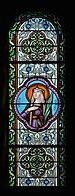 Ronsenac 16 Église Vitrail Ste Victoire 2014.JPG