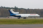 Rossiya Tu-154 on departure.jpg