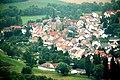 Rotenfels bei Traisen, Blick zur katholischen Kirche in Norheim.jpg