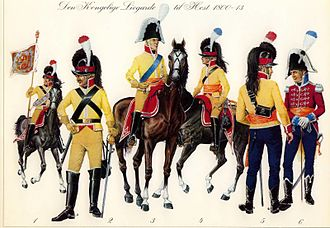 Royal Horse Guards (Denmark) - Members of the Royal Danish Horse Guards