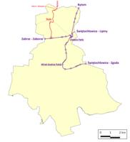Ruda Śląska tram network.png