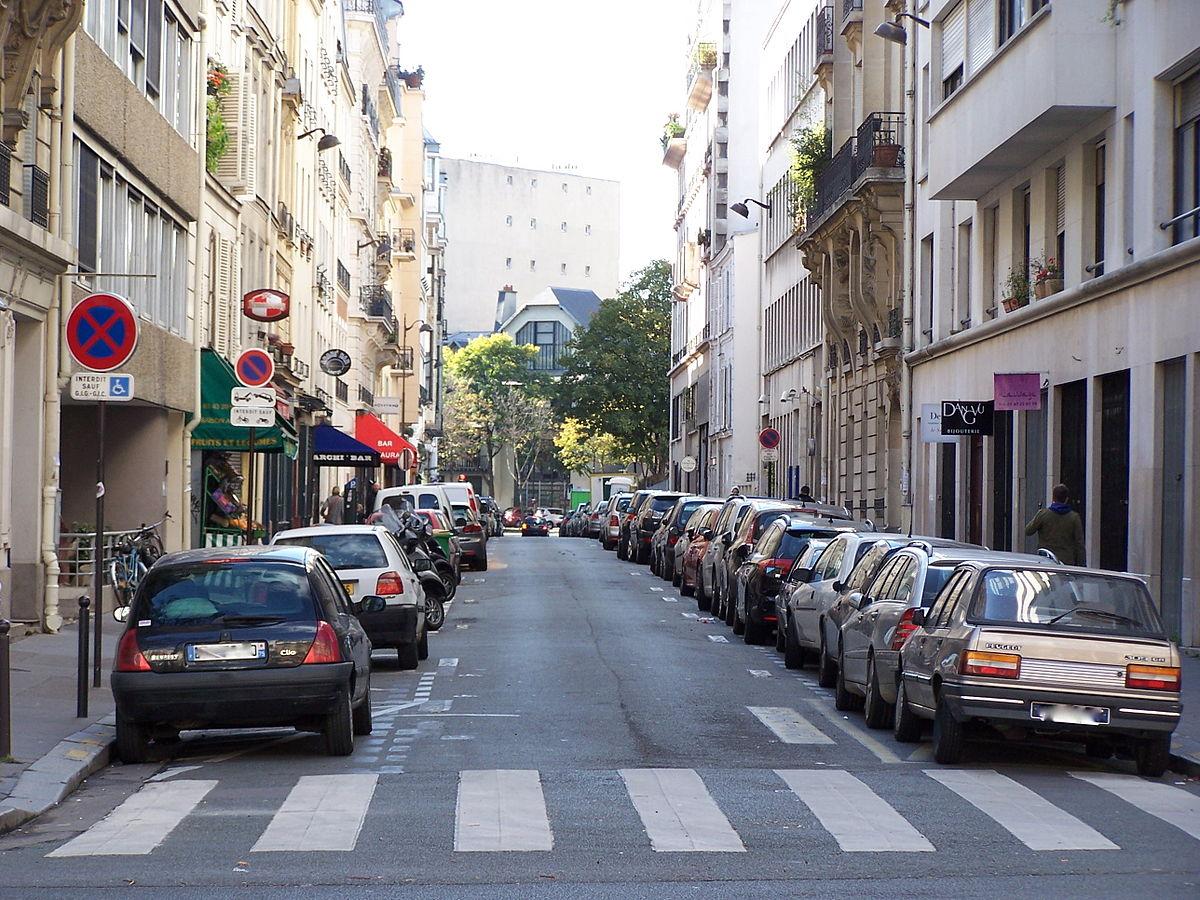 Rue campagne premi re wikip dia for Piscine montparnasse