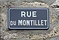 Rue du Montillet, octobre 2019, panneau de rue.jpg