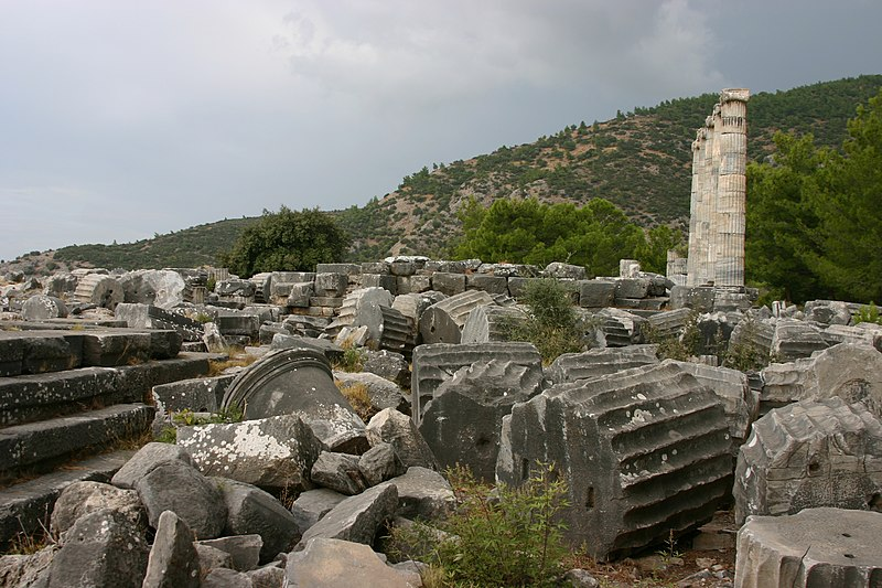 File:Ruins at Priene (5).JPG